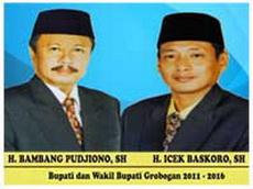 Bupati dan Wakil Bupati Grobogan 2011-2016