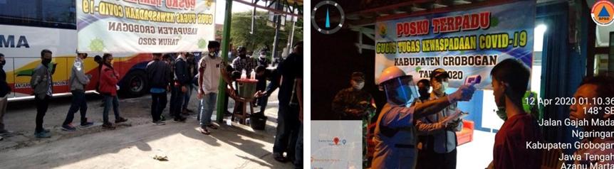 Laporan Harian Gugus Tugas Percepatan Penanganan Corona Virus Disease 2019 Kabupaten Grobogan Minggu Tanggal 12 April 2020